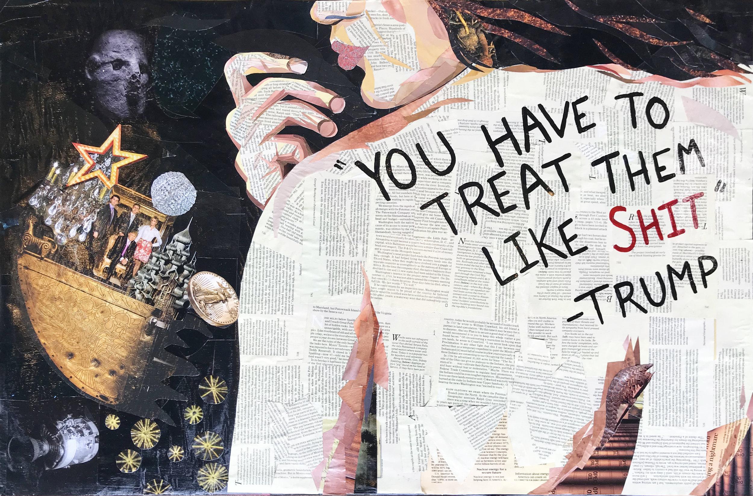 Trump Mosaic Collage