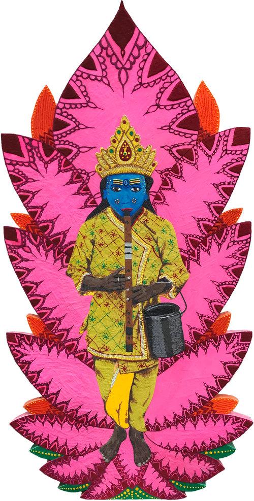 """Krishna (48"""" x 96"""")"""