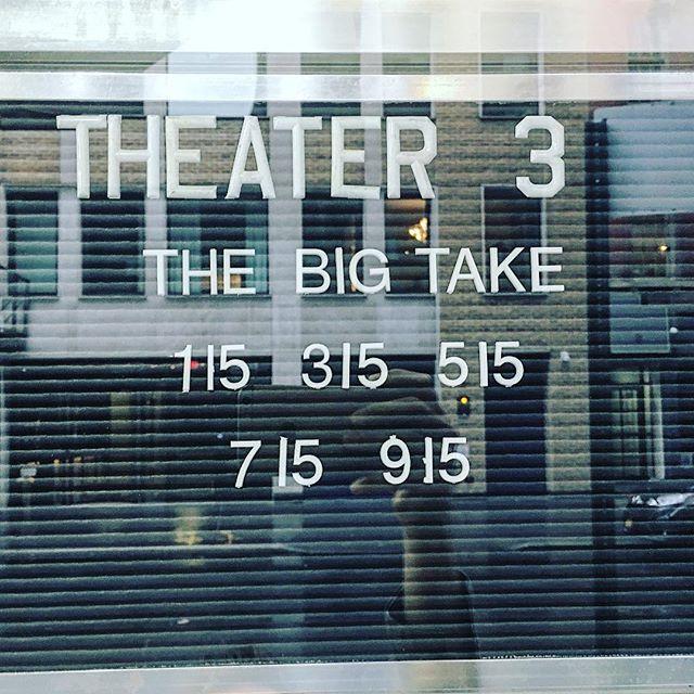 The Big Take on the big screen.