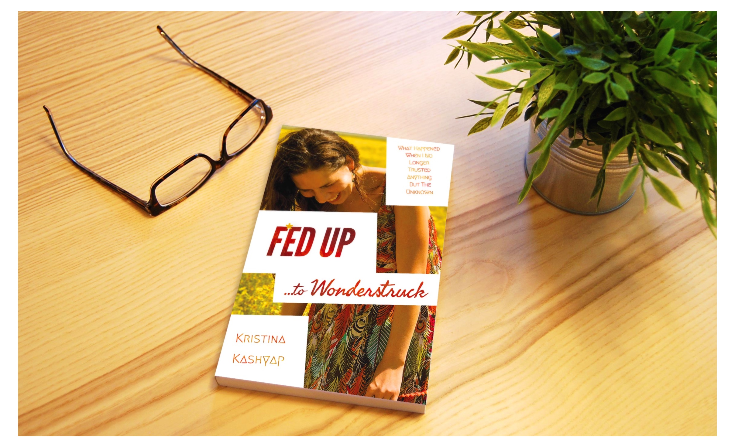 Get Kristina's New Book at Amazon - Check out the book website www.fedupwonderstruck.com