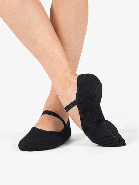 Boys Black Ballet Slippers