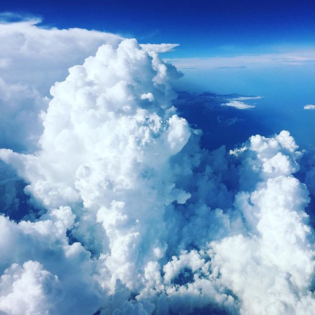 #☁️ Much more spectacular once you've overcome your fear of flying - ✈️