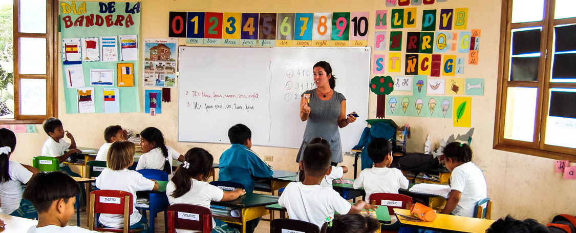 Volunteer Galapagos Teach
