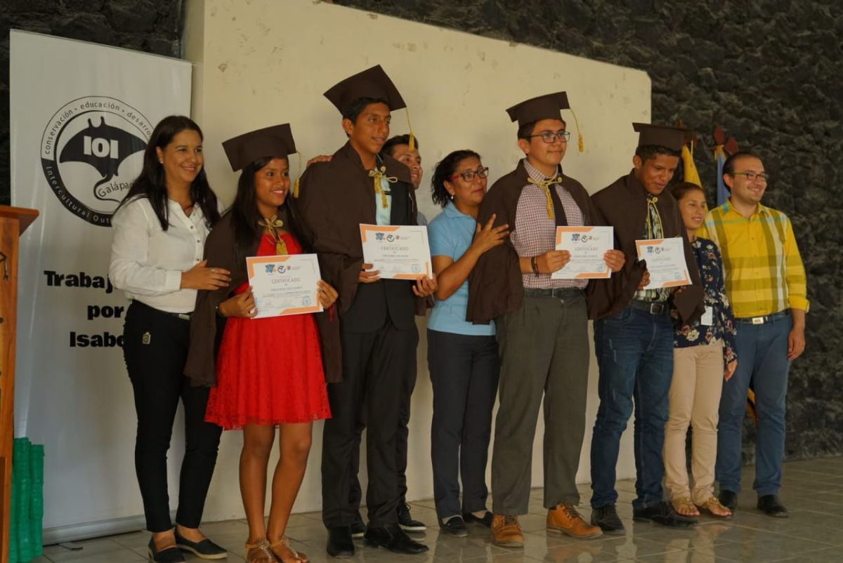 The graduation ceremony after our first Lidderar course!