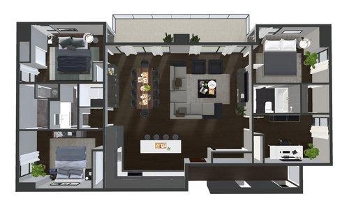 Penthouse 3D Model Dollhouse.jpg