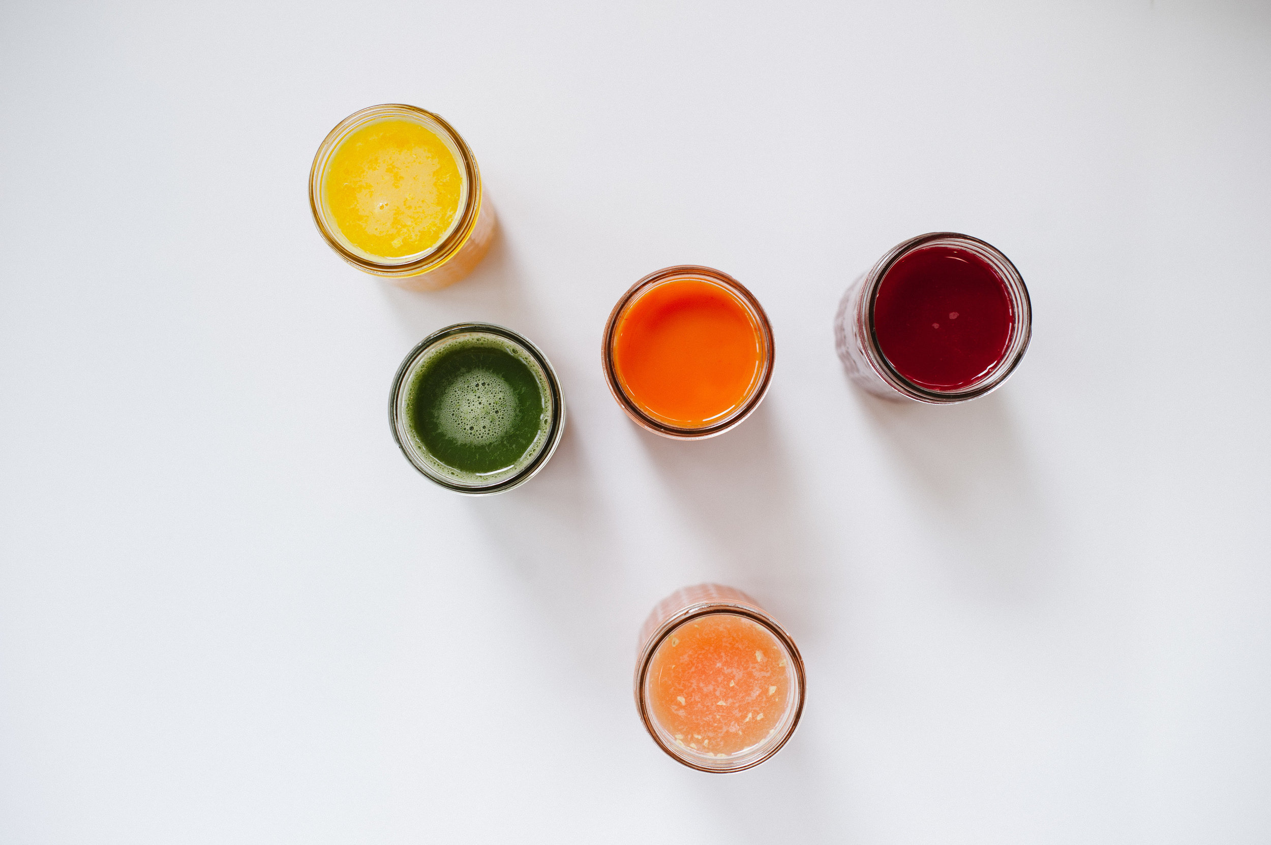 Fresh vegetable juices Sea to Sky Thrivers