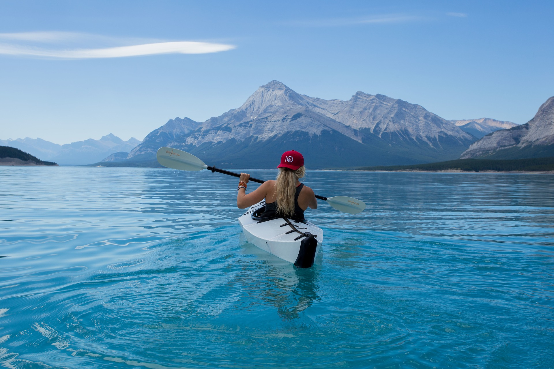 Kayak Canoe Mountains Sport Sea to Sky Thrivers