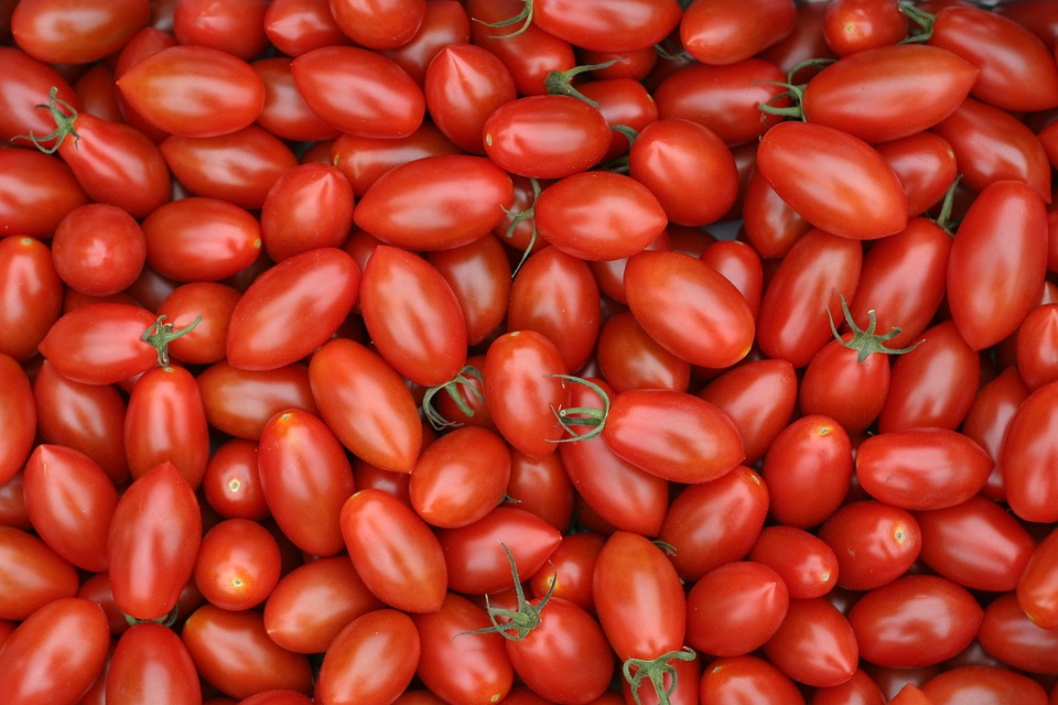 Tomatoes are packed full of Vitamin C