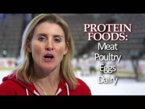 Hayley Wickenheiser the face for Maple Leaf's 'Protein Builds' Campaign