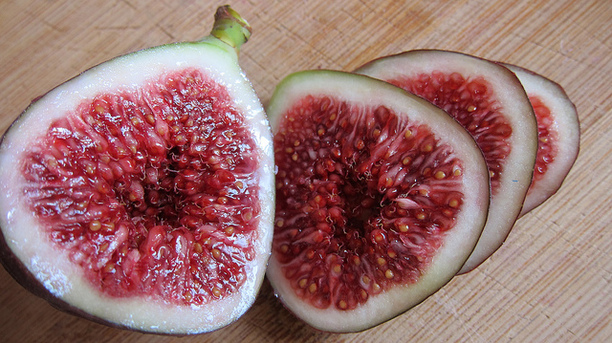 1/2 cup of fresh figs provides the calcium equivalent as 1 1/2 cups of milk
