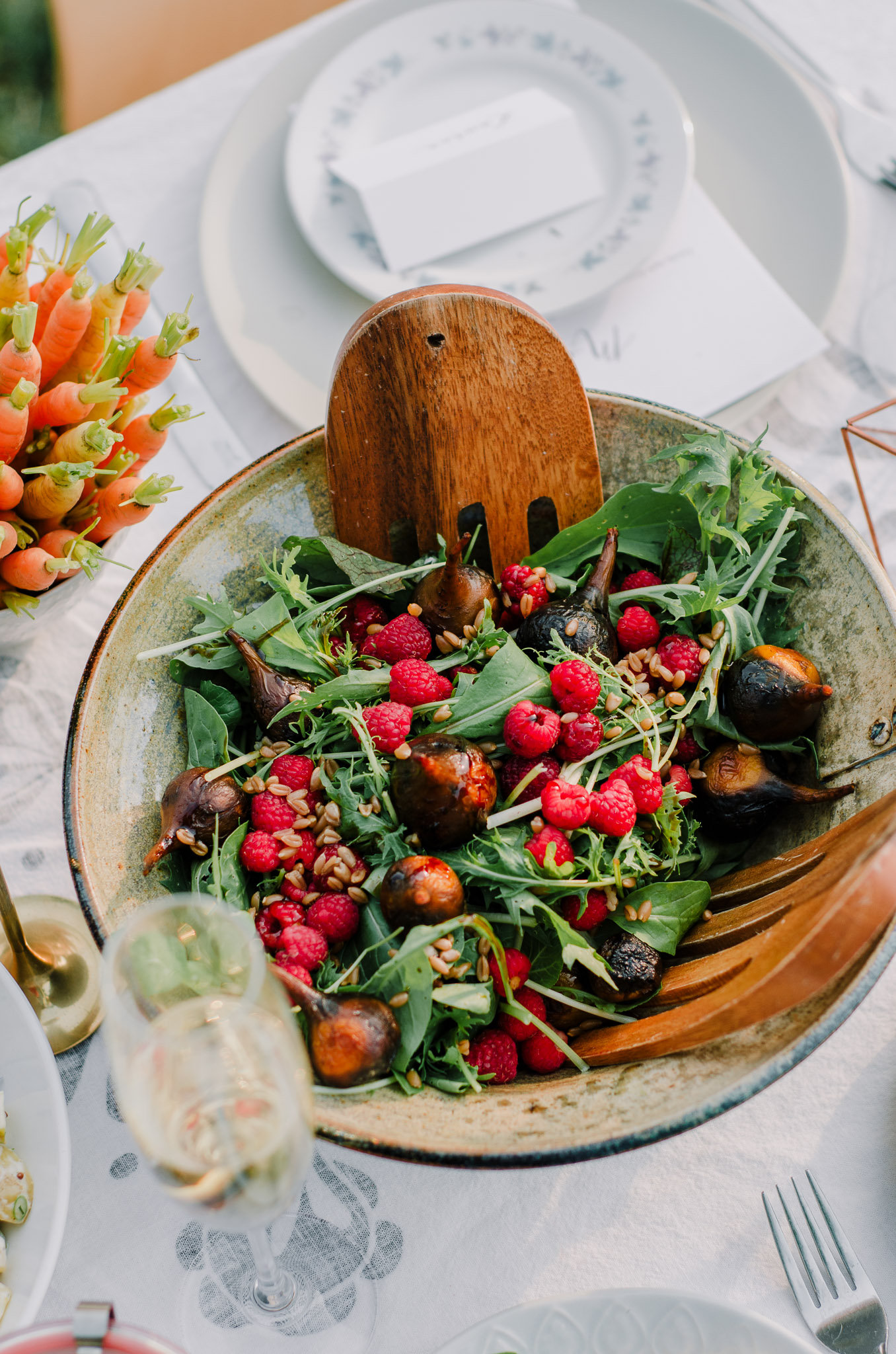 Roasted Beet salad by The Nomadic Wife