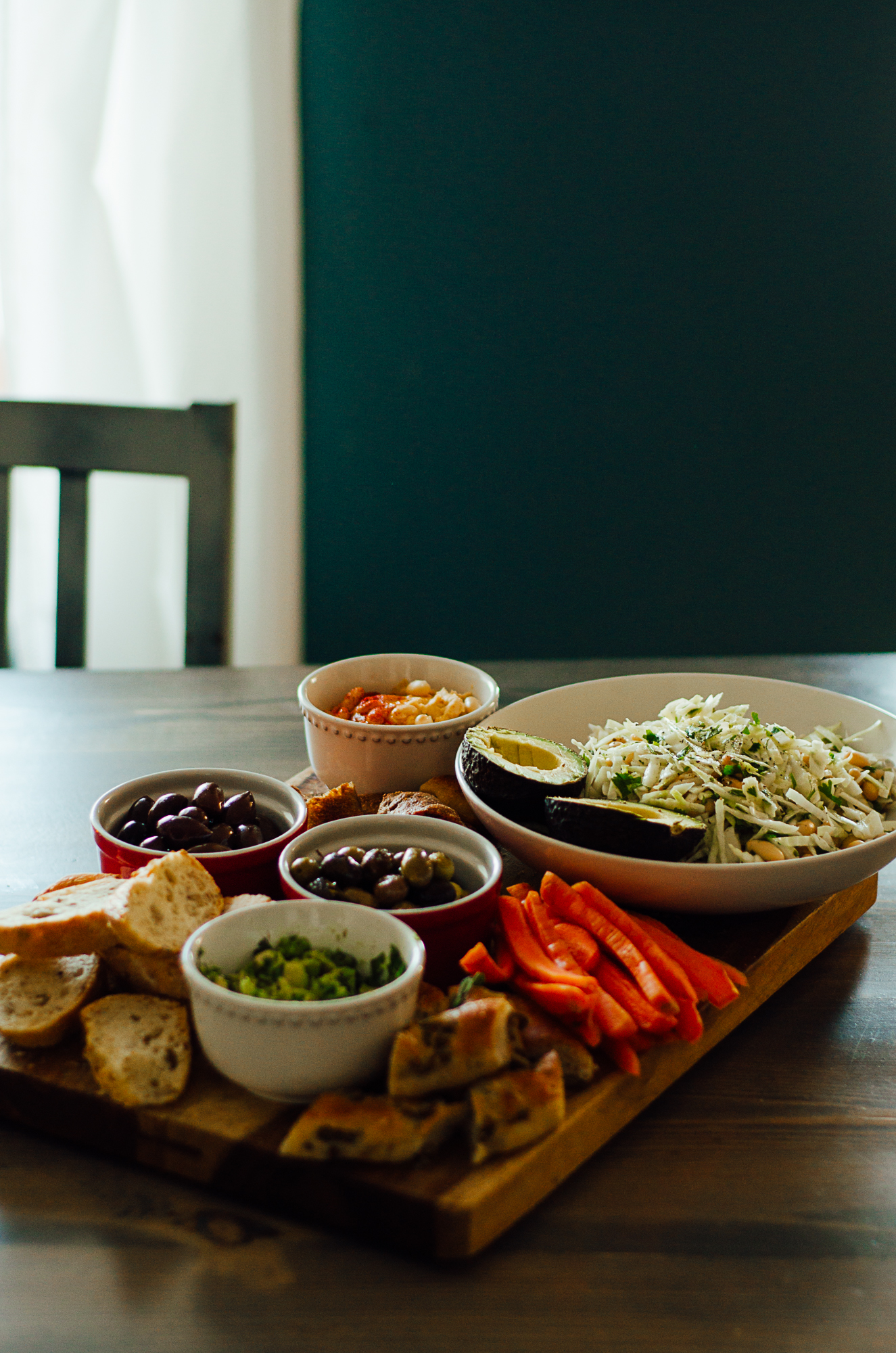 New alternative to charcuterie boards - the nomadic wife