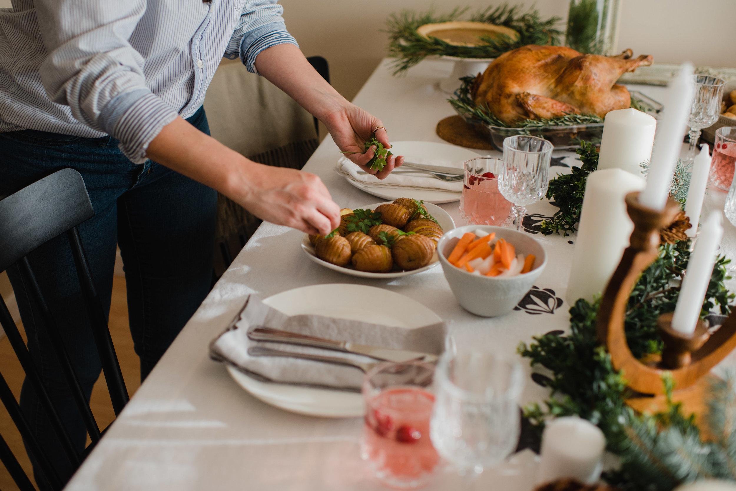 Hasselback Potatoes | Photo by Emilie Iggiotti | The Nomadic Wife
