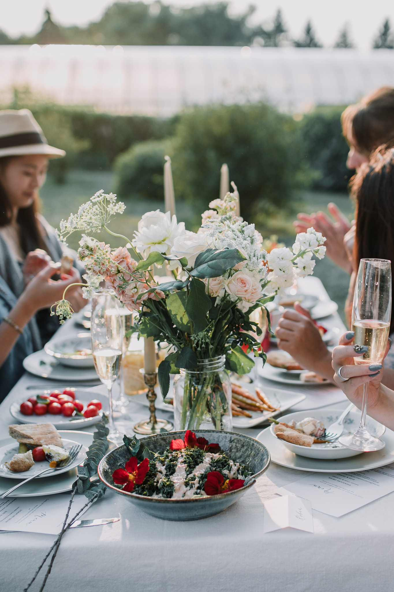 on farm dinner alberta by the nomadic wife | photography by sara jewell