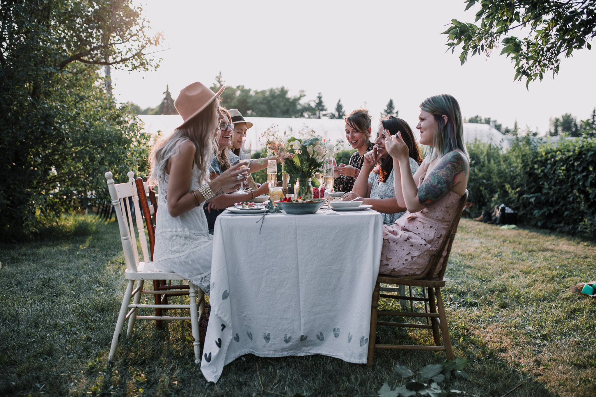 on farm dinner alberta by the nomadic wife | sara jewell photography