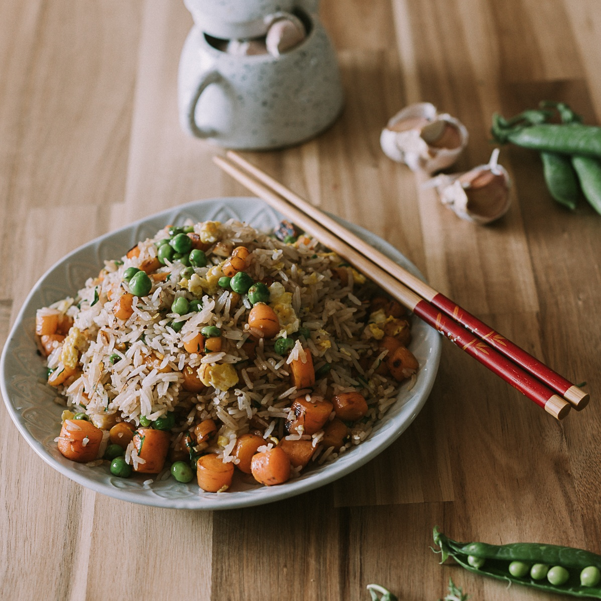 """Fried rice is one of those recipes that can easily be altered to accommodate anything that is kicking the bucket in your crisper."" - So keep it in your back-pocket for end-of-week fridge foraging!"