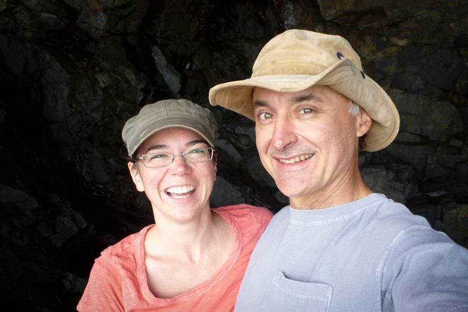 David (ceramist) + Alicia (photographer)