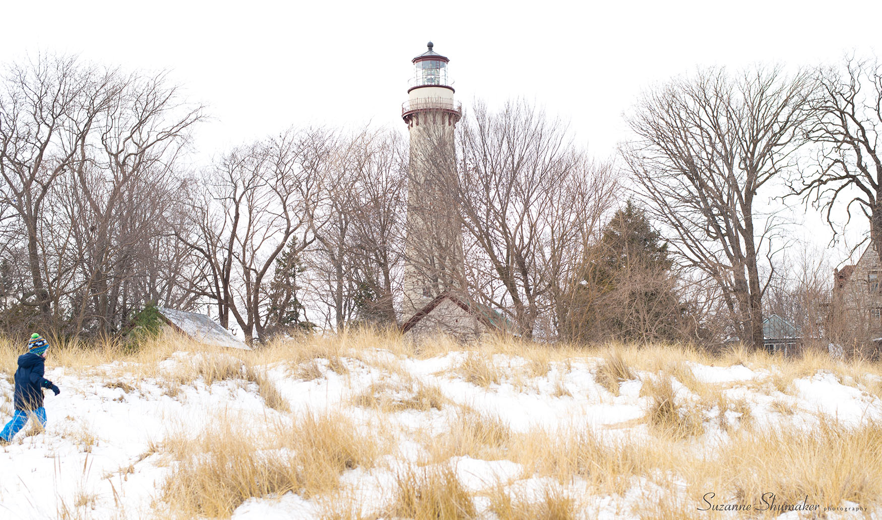 New Year's Family Walk ~ Lighthouse Beach, Evanston