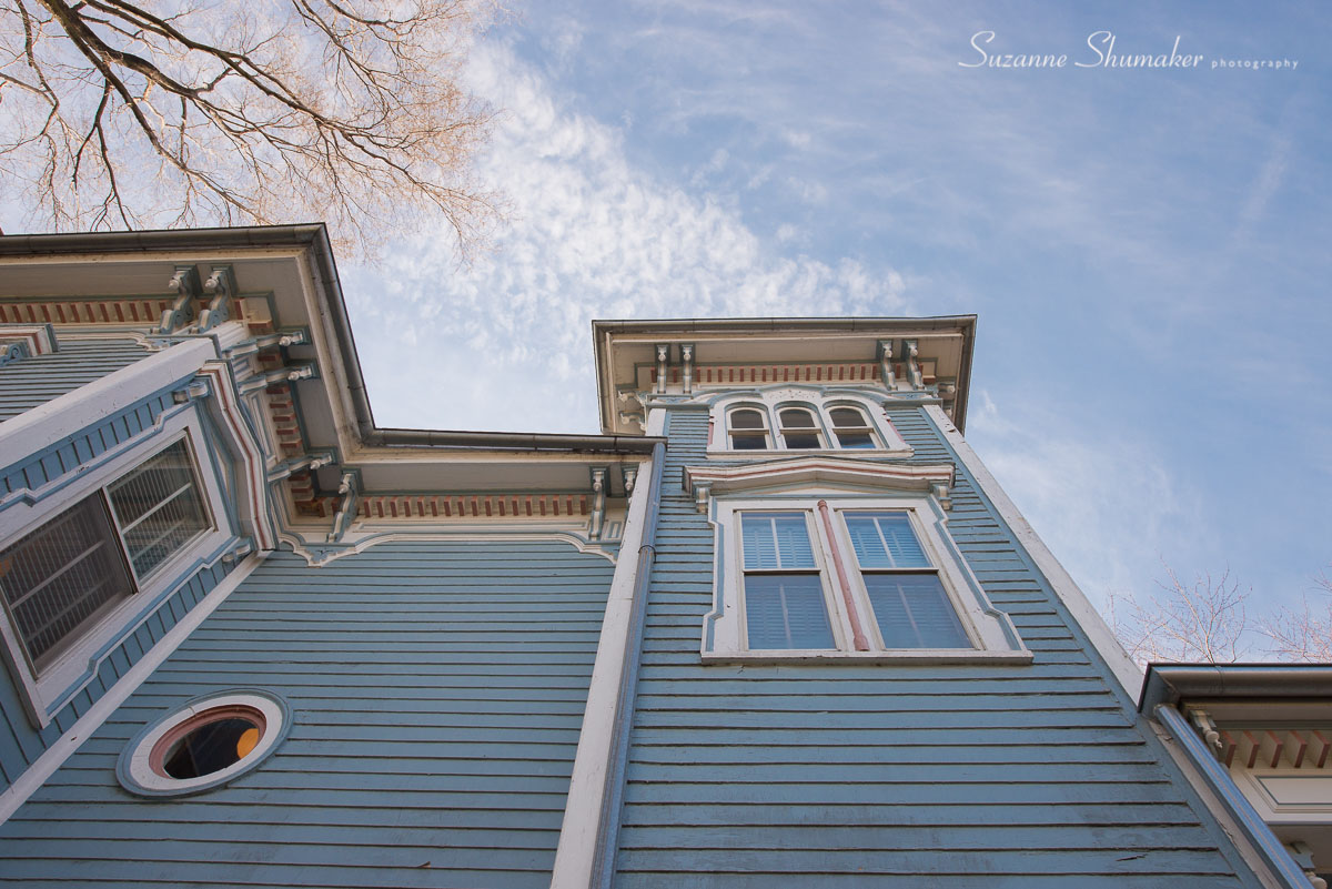 This Italianate house always reminds me how little we humans are