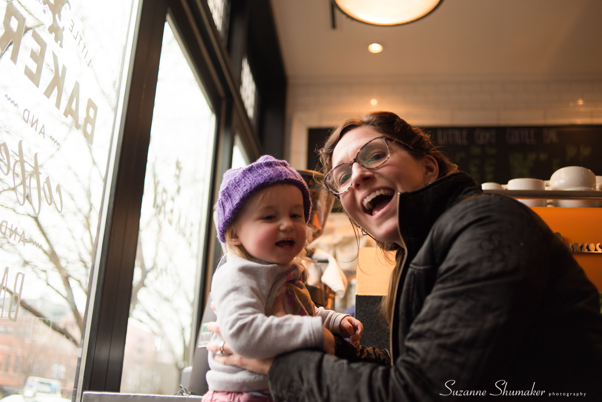 My Sister and Niece ~ At the Girl and the Goat