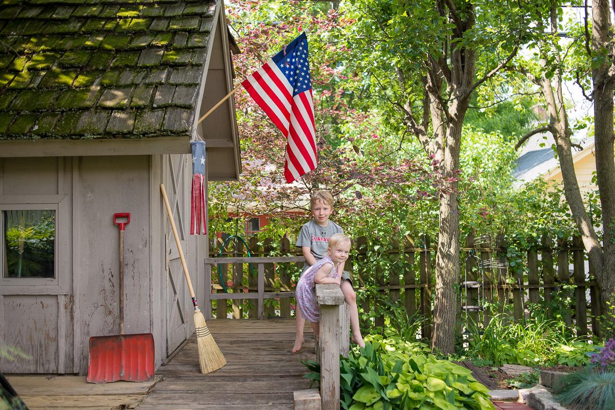 150/366 Grandpas's Garden ~ Memorial Day