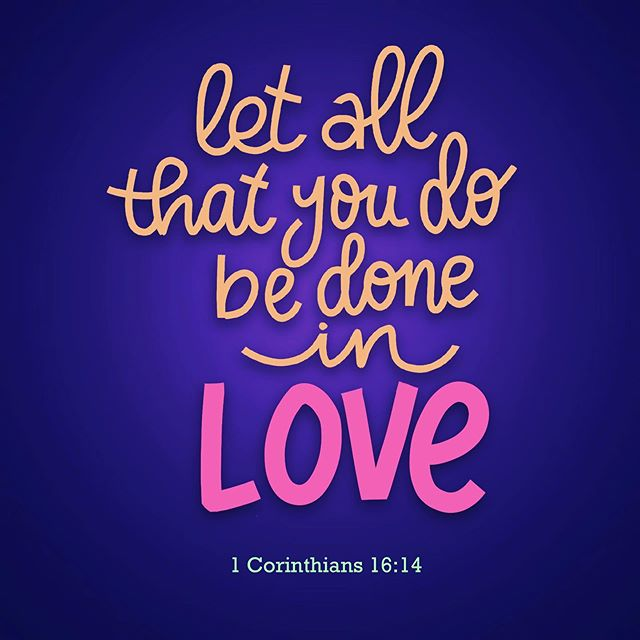 Spread the love! #procreatelettering #bibleverse #ipadprocreate #lovequotes #bibleverses
