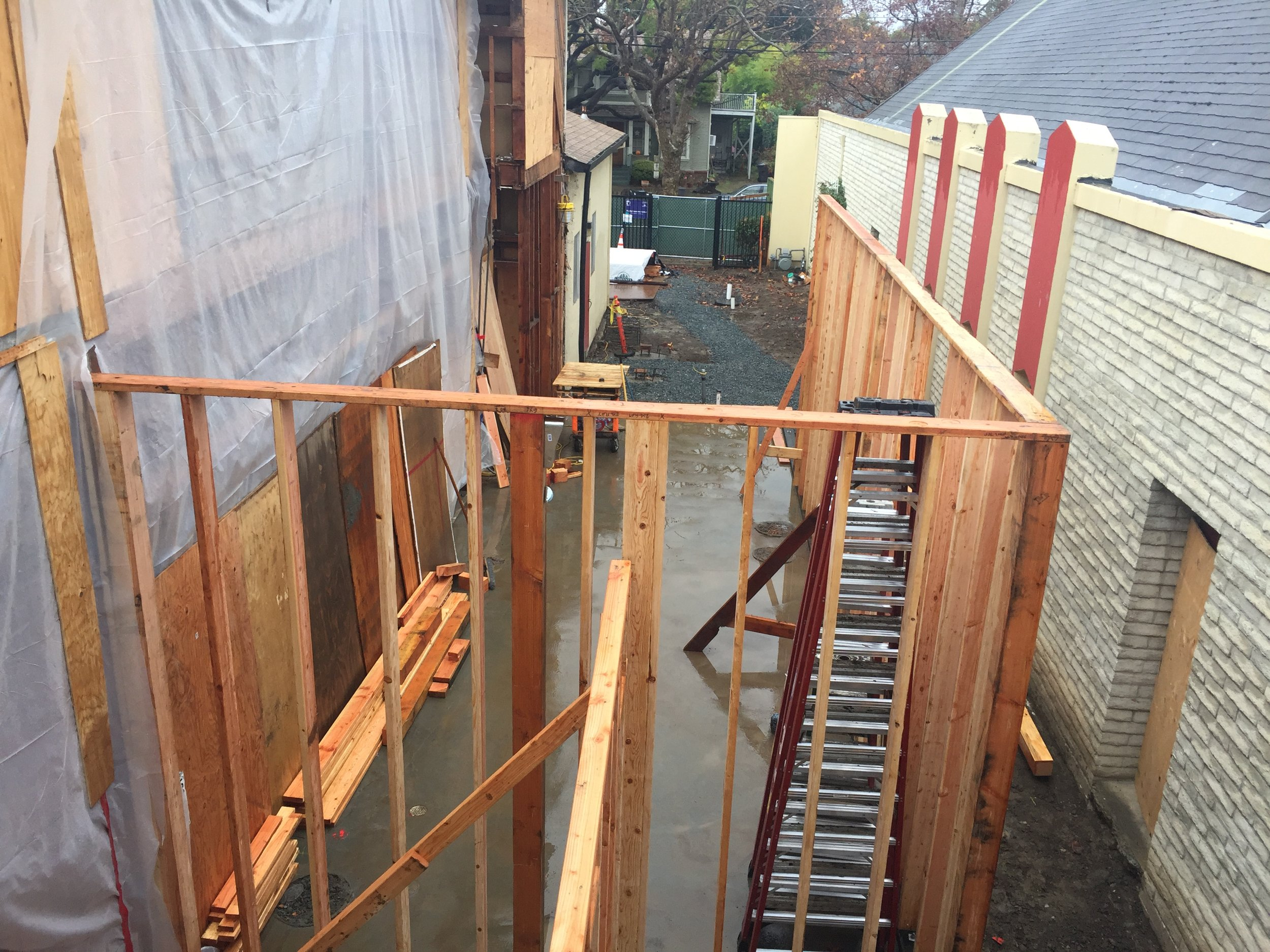 11-29-2018 Framing begins