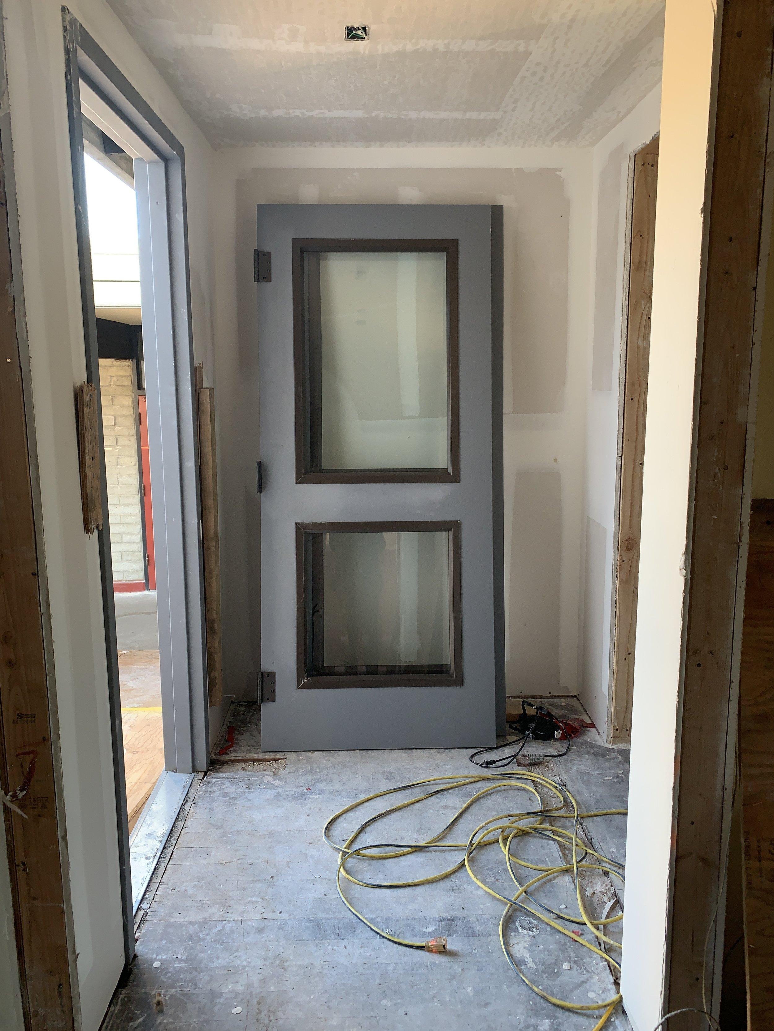 3-14-2019 New doors