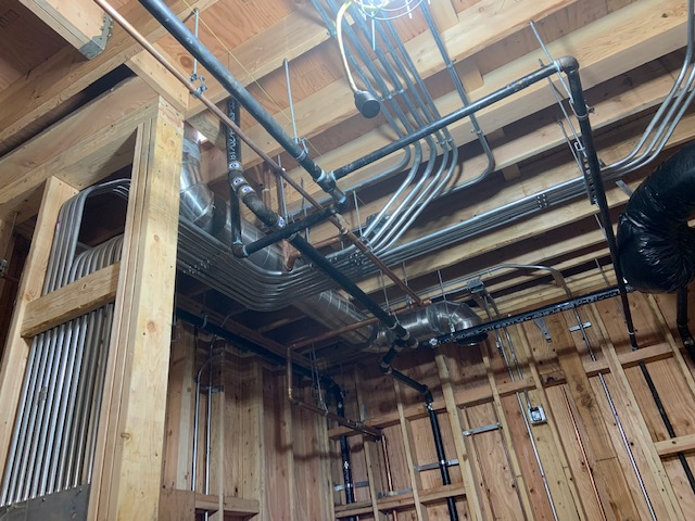 1-19-2019 Pipework for Assembly Hall and Kitchen