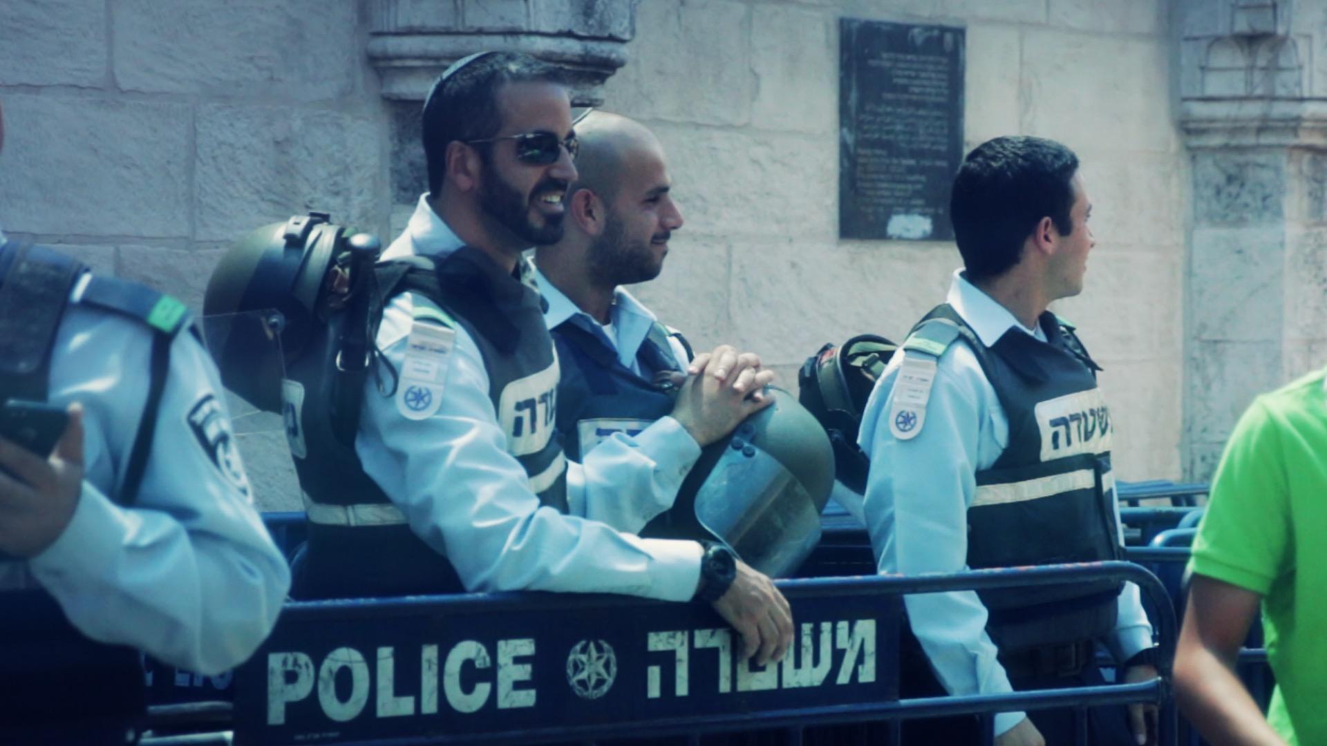 Israeli Police in Jerusalem, July 4th 2014