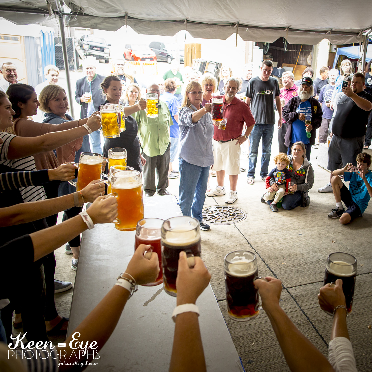 BEER LINEUP - German Imports, local breweries and best of local beer challenge.