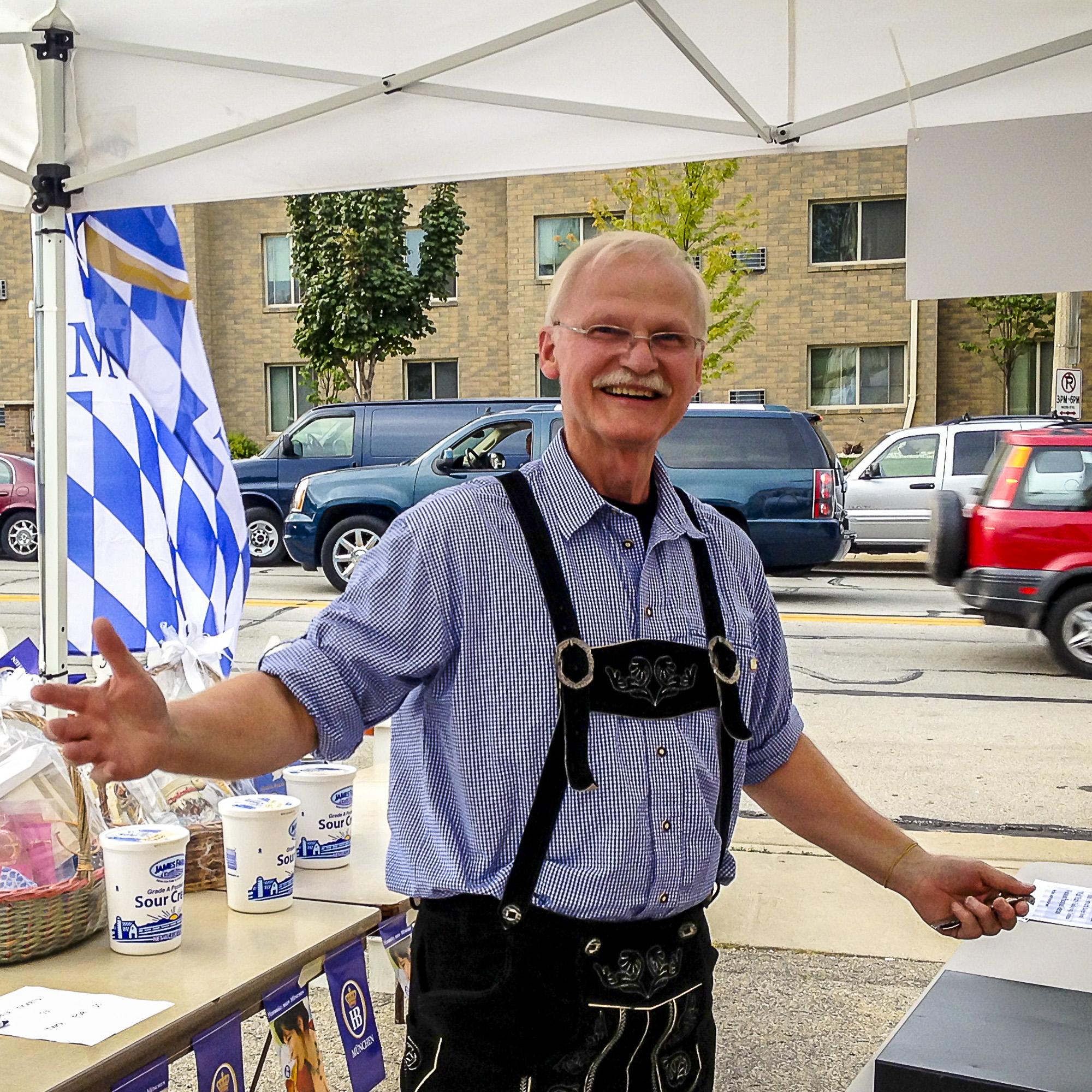 Volunteer at Oktoberfest at Kegel's Inn