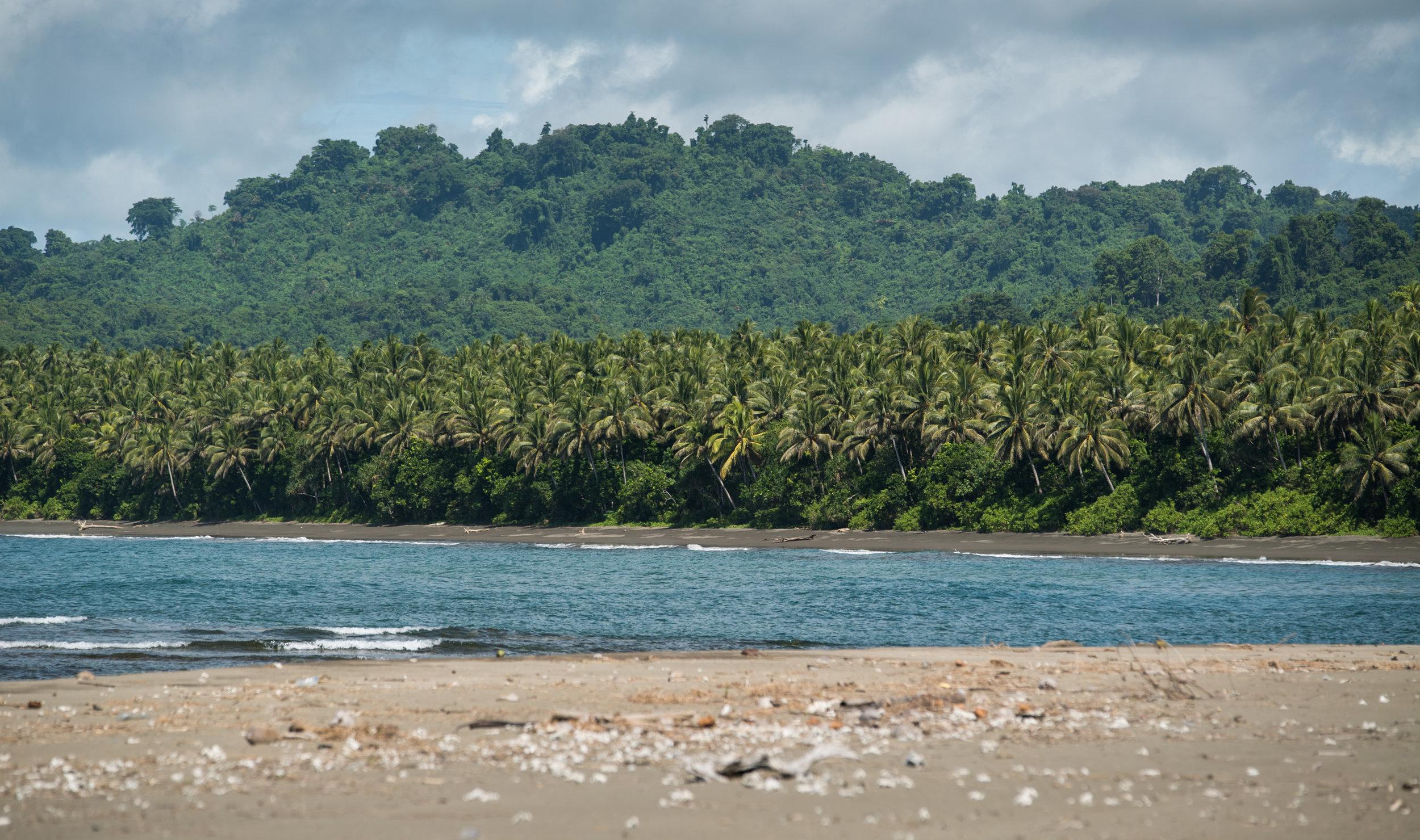Haevo, the first community-led marine protected area established on Isabel, Solomon Islands.