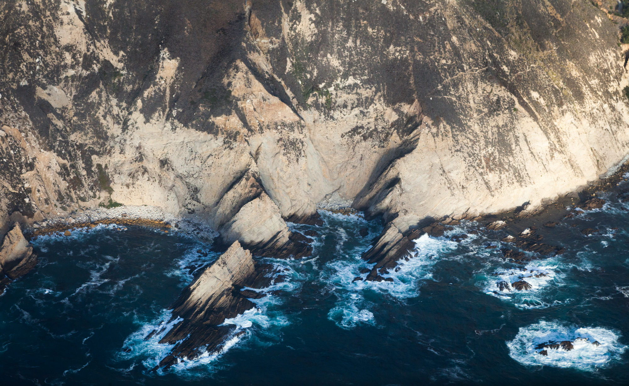 The wild and rugged coastline of California, 2015.