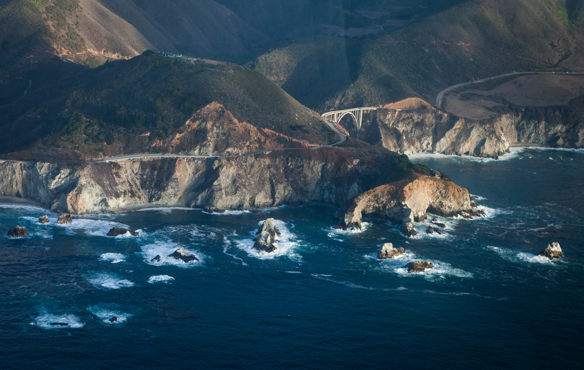 We explored California's marine protected area network up in the air in Mike Sutton's Cessna in 2015.
