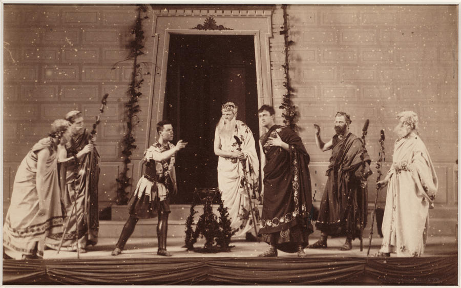 University of Toronto's Antigone, 1882    Source: www.thesecretvictorianist.com