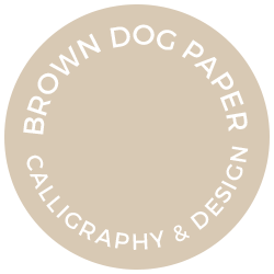 BROWN DOG PAPER