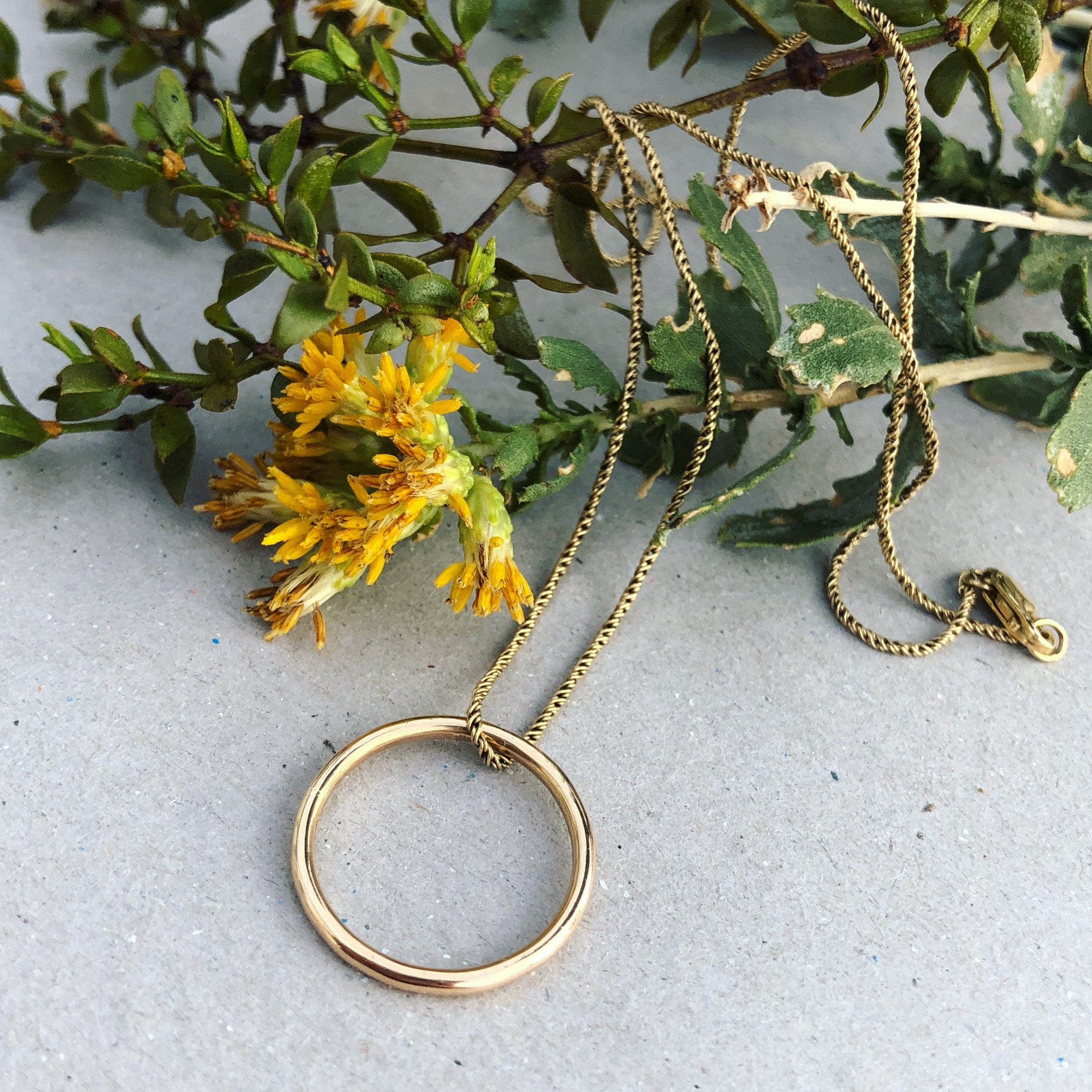 Joie necklace 14k gold fill agapantha jewelry.JPG