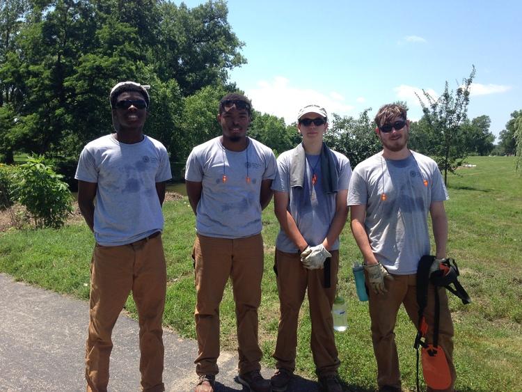 Nature Works crew members