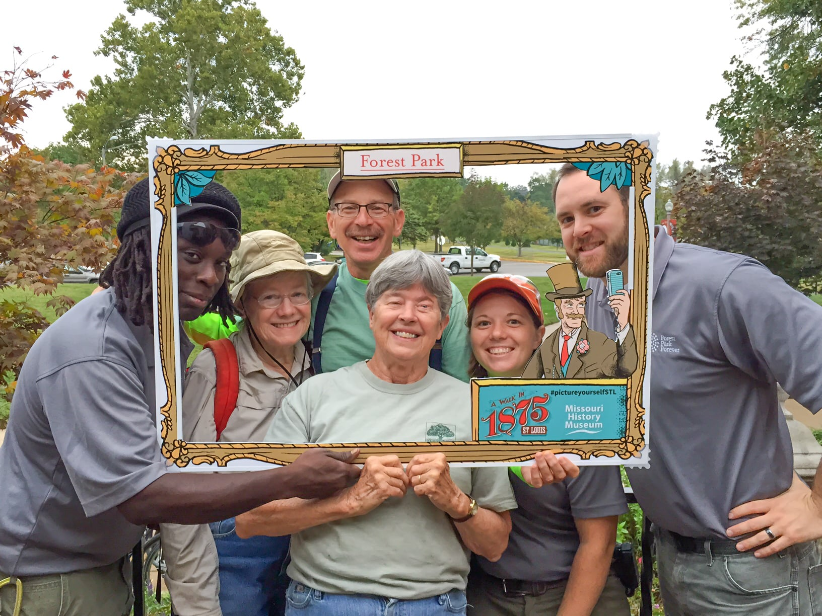 Forest Park Forever Nature Reserve staff and volunteers 'picture themselves' in St. Louis history