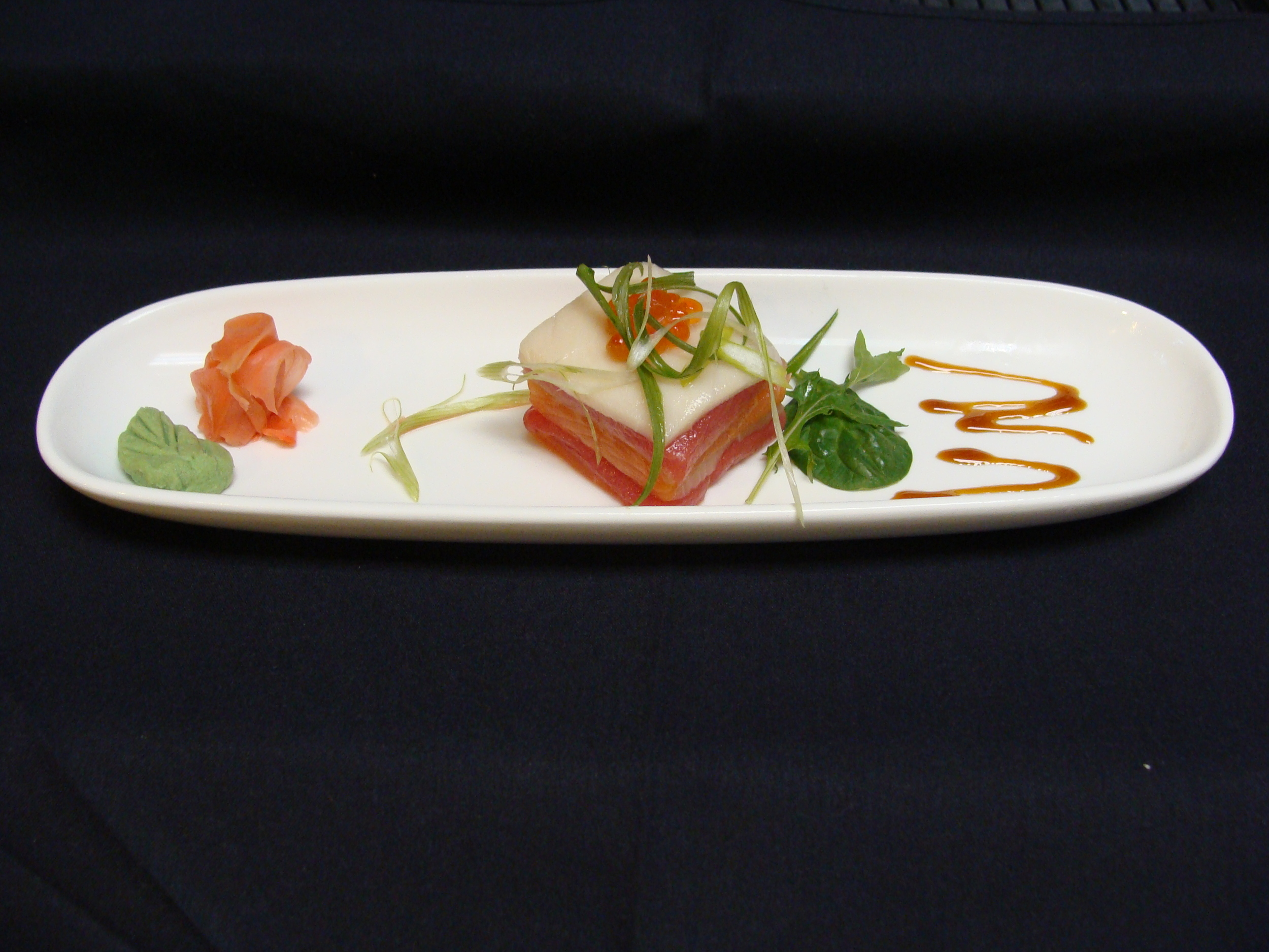 Sashimi Sampler Stacked