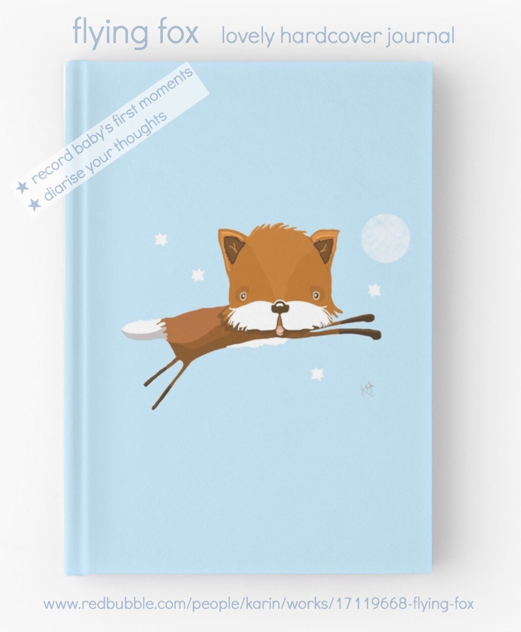 Flying Fox Hardcover Journal