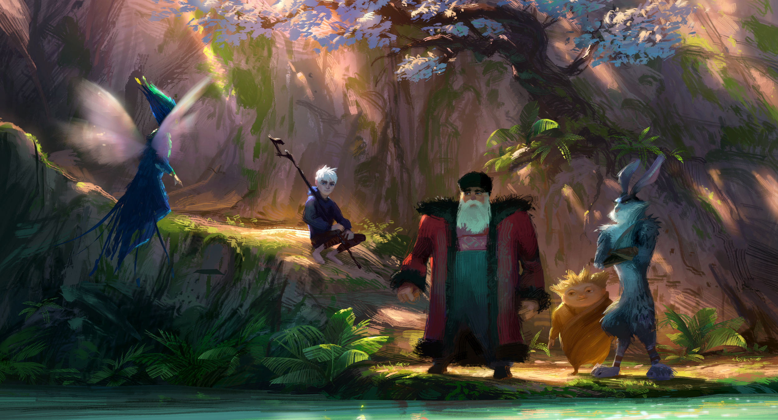 Rise of The Guardians, DWA Concept painting