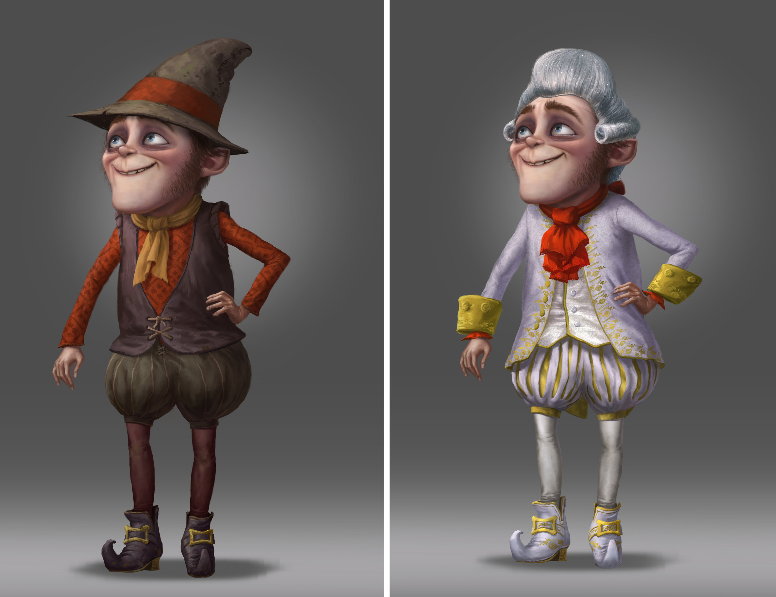 Shrek Forever After, DWA Character design painting