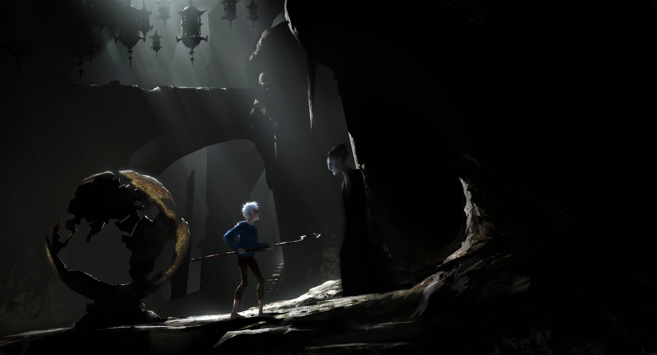 Rise of The Guardians, DWA Color key - Pitch's lair