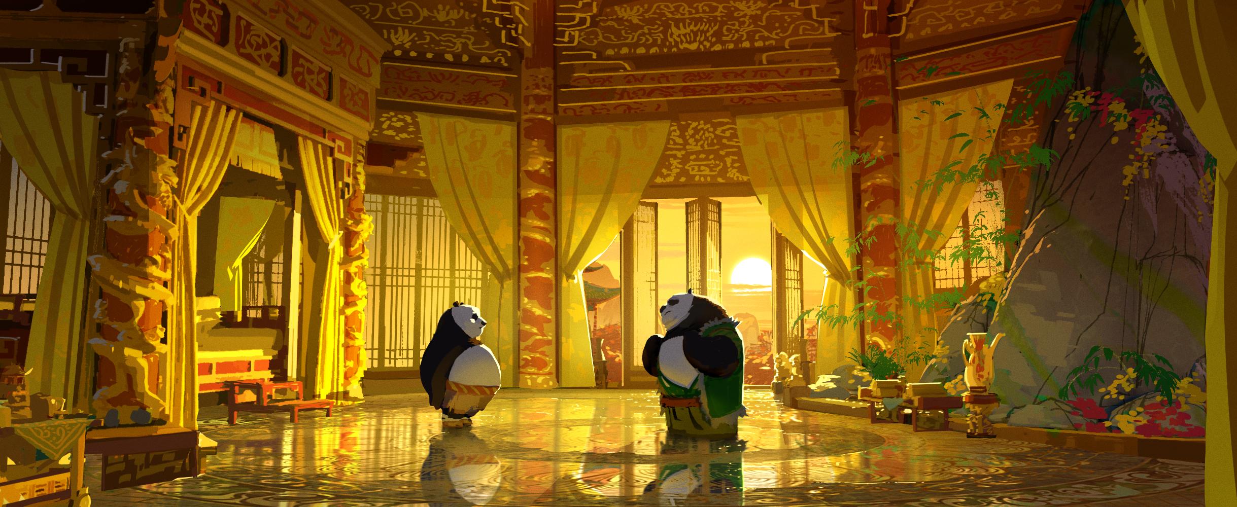 Kung Fu Panda 3, DWA Color key - Chrysanthemum suite