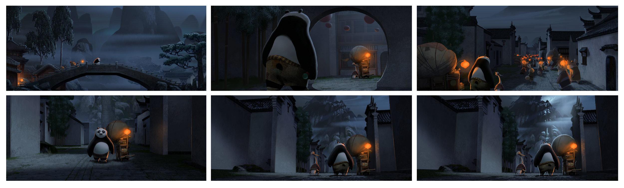 Kung Fu Panda, DWA Color keys