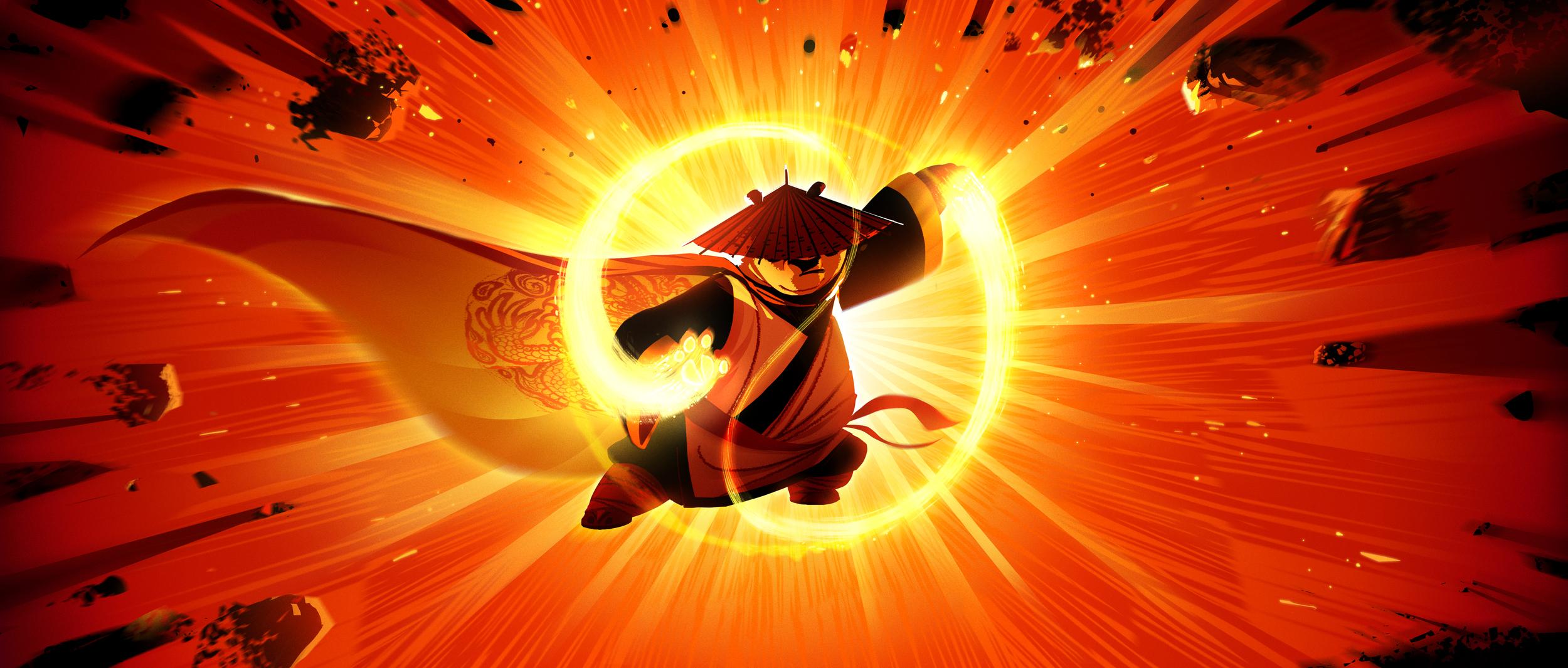 Kung Fu Panda 3, DWA Concept painting - Dragon Warrior
