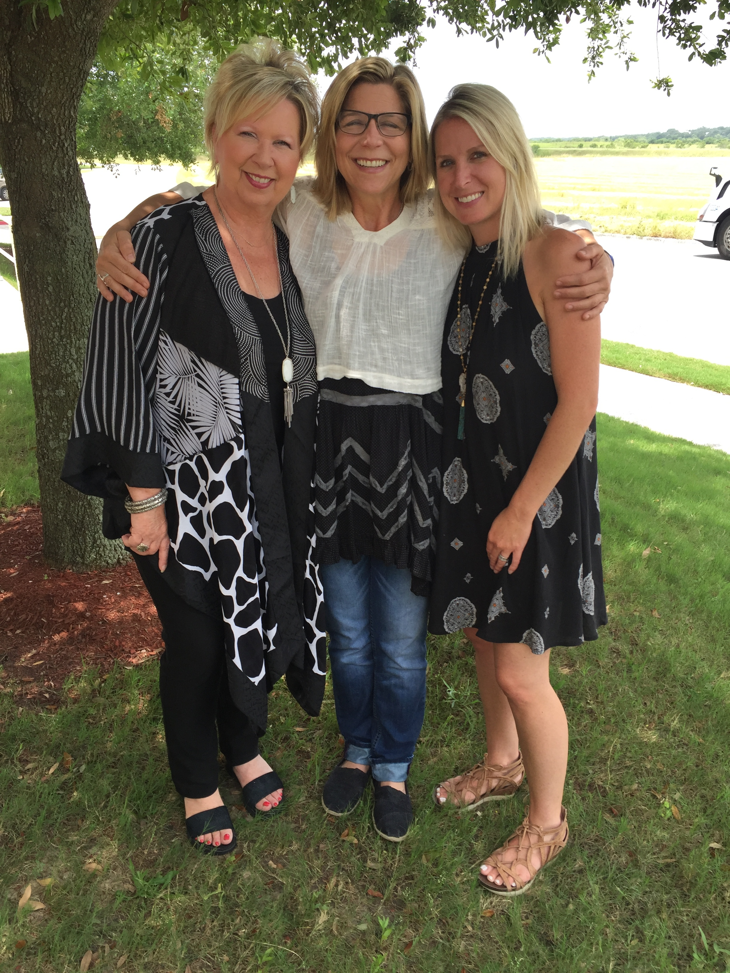 we donated to Terri HEndrix foundation, oyou for the annual women's retreat.