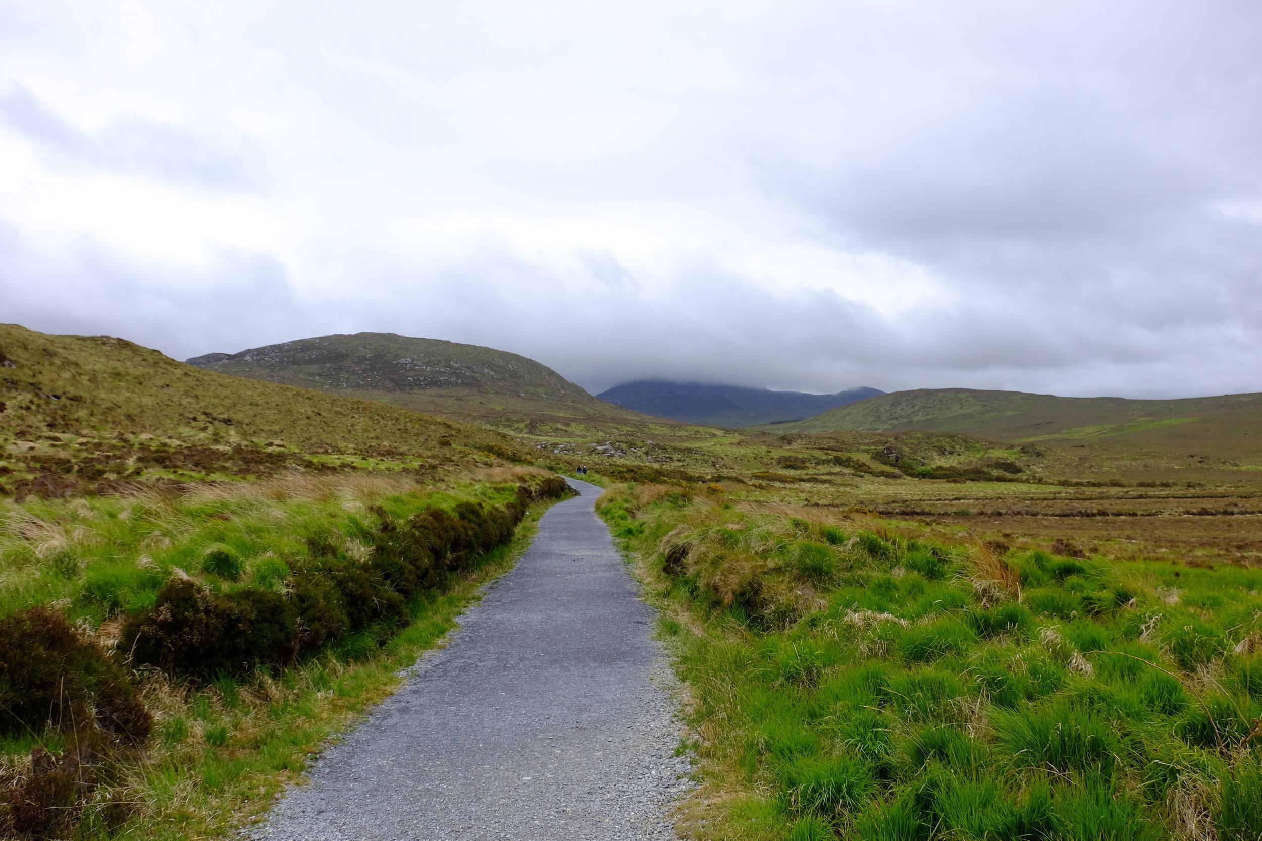 Connemara countryside.